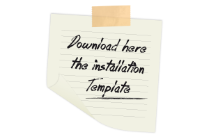 Installation Template CuelgaMAX® ORIGINAL